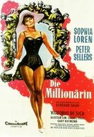 The Millionairess - German Movie Poster (xs thumbnail)