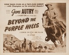 Beyond the Purple Hills - Re-release movie poster (xs thumbnail)