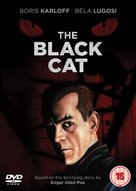 The Black Cat - British DVD movie cover (xs thumbnail)