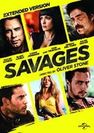 Savages - DVD movie cover (xs thumbnail)