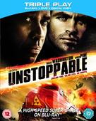 Unstoppable - British Blu-Ray movie cover (xs thumbnail)