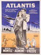 Siren of Atlantis - Danish Movie Poster (xs thumbnail)