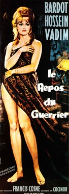 Le repos du guerrier - French Movie Poster (xs thumbnail)