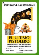 The Shootist - Spanish Movie Poster (xs thumbnail)