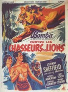 The Lion Hunters - French Movie Poster (xs thumbnail)