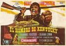 The Kentuckian - Spanish Movie Poster (xs thumbnail)