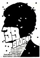 The Thirty Nine Steps - Polish Movie Poster (xs thumbnail)