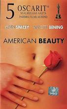 American Beauty - Estonian VHS movie cover (xs thumbnail)