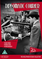 Diplomatic Courier - British DVD movie cover (xs thumbnail)