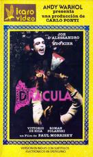 Blood for Dracula - Argentinian VHS movie cover (xs thumbnail)