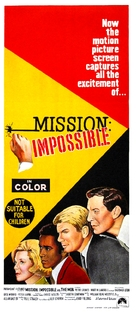 Mission Impossible Versus the Mob - Australian Movie Poster (xs thumbnail)