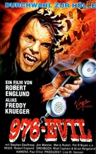 976-EVIL - German VHS cover (xs thumbnail)