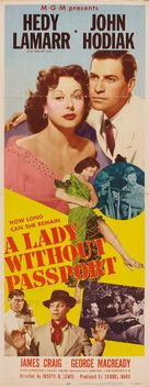 A Lady Without Passport - Movie Poster (xs thumbnail)