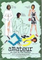 Amateur - Spanish Movie Poster (xs thumbnail)
