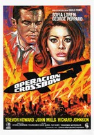 Operation Crossbow - Spanish Movie Poster (xs thumbnail)