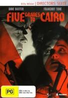 Five Graves to Cairo - Australian DVD cover (xs thumbnail)