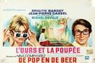 L'ours et la poupée - Belgian Movie Poster (xs thumbnail)