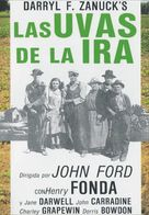 The Grapes of Wrath - Spanish DVD movie cover (xs thumbnail)