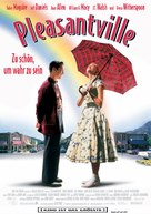 Pleasantville - German Movie Poster (xs thumbnail)