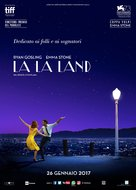 La La Land - Italian Movie Poster (xs thumbnail)