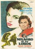 Le miracle des loups - Spanish Movie Poster (xs thumbnail)