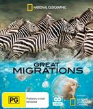 """Great Migrations"" - Australian Blu-Ray movie cover (xs thumbnail)"