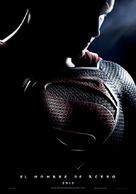 Man of Steel - Spanish Movie Poster (xs thumbnail)