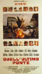 A Bridge Too Far - Italian Movie Poster (xs thumbnail)
