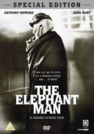 The Elephant Man - British DVD movie cover (xs thumbnail)