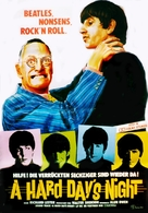 A Hard Day's Night - German Movie Poster (xs thumbnail)