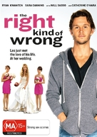 The Right Kind of Wrong - Australian DVD cover (xs thumbnail)