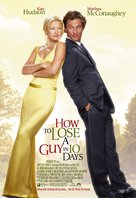 How to Lose a Guy in 10 Days - British Movie Poster (xs thumbnail)