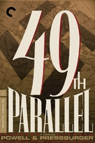 49th Parallel - DVD movie cover (xs thumbnail)