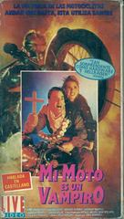 I Bought a Vampire Motorcycle - Argentinian VHS cover (xs thumbnail)