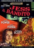 Jesse James - Italian DVD movie cover (xs thumbnail)