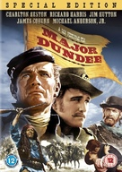 Major Dundee - British DVD movie cover (xs thumbnail)