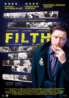 Filth - Spanish Movie Poster (xs thumbnail)