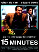 15 Minutes - French Movie Poster (xs thumbnail)