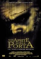 The Texas Chainsaw Massacre - Italian Movie Poster (xs thumbnail)