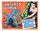 Untamed Women - Movie Poster (xs thumbnail)