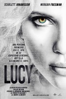Lucy - Spanish Movie Poster (xs thumbnail)