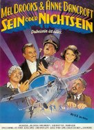 To Be or Not to Be - German Movie Poster (xs thumbnail)