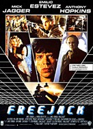 Freejack - French Movie Poster (xs thumbnail)