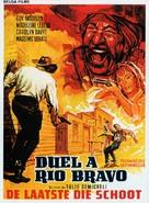 Desafío en Río Bravo - Belgian Movie Poster (xs thumbnail)
