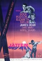 Giant - Swedish Movie Poster (xs thumbnail)