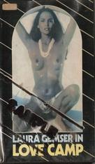 Die Todesgöttin des Liebescamps - VHS cover (xs thumbnail)