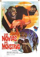 Brides of Blood - Spanish Movie Poster (xs thumbnail)