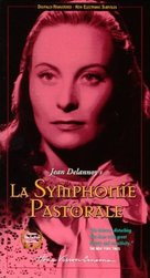 La symphonie pastorale - VHS movie cover (xs thumbnail)