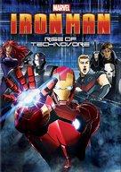 Iron Man: Rise of Technovore - DVD cover (xs thumbnail)