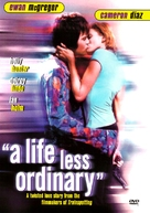 A Life Less Ordinary - DVD movie cover (xs thumbnail)